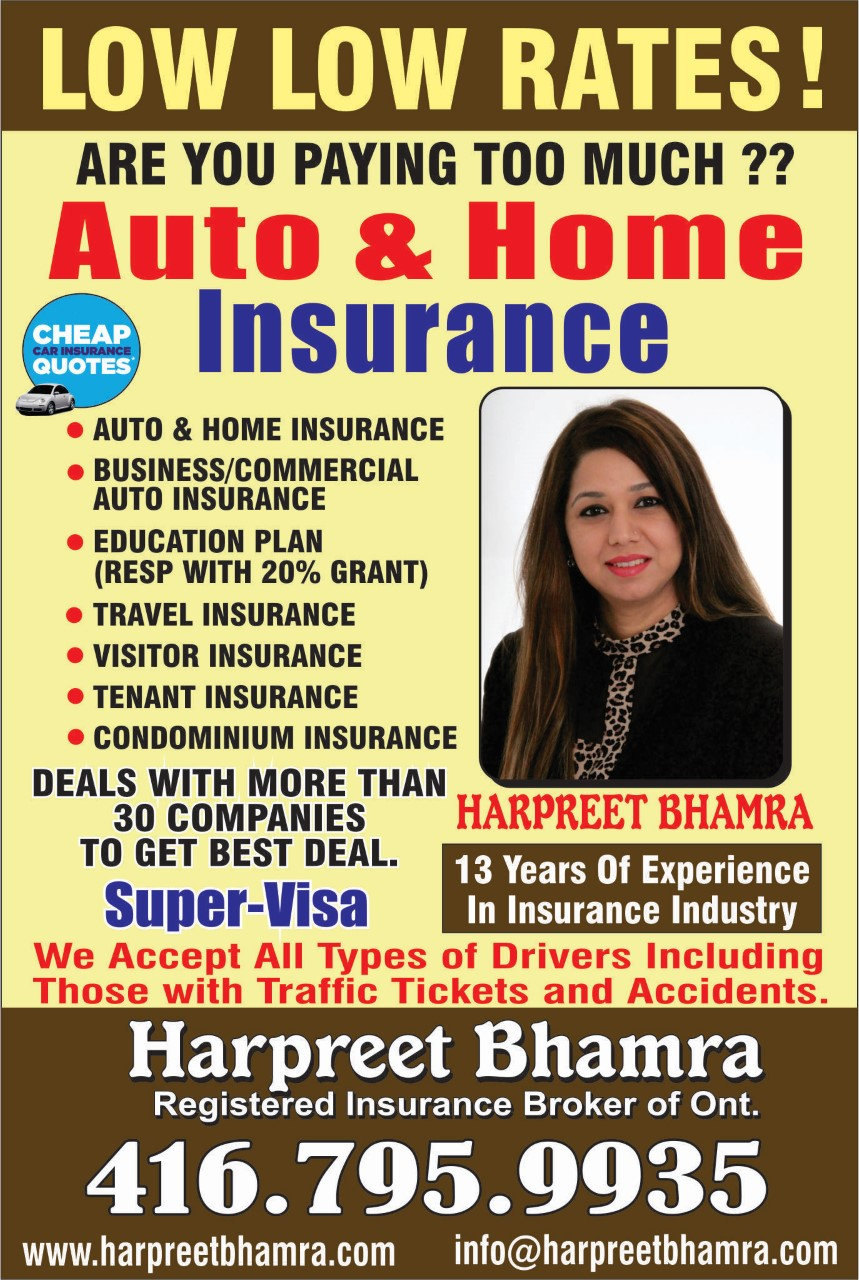 Front Page - Registered Insurance Broker of Ontario
